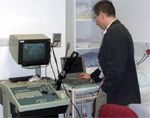 Endo-anal ultrasound and EMG machines